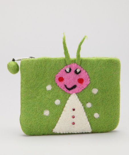 Green Ant Coin Purse