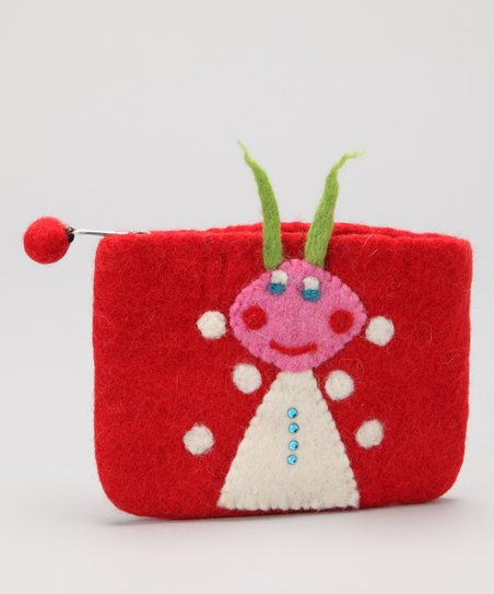 Red Ant Coin Purse
