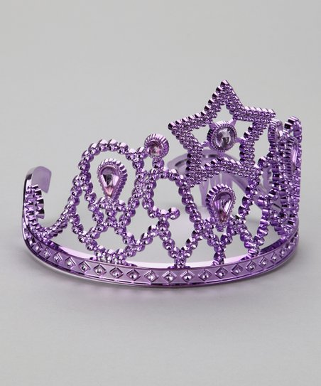 Purple Star Tiara