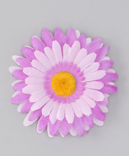 Purple &amp; Pink Flower Clip