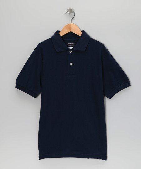 Navy Cooper Polo - Infant & Boys
