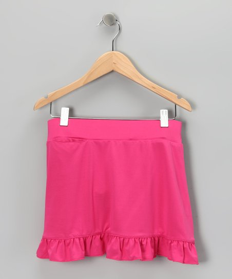 Bright Pink Willow Skort - Toddler &amp; Girls
