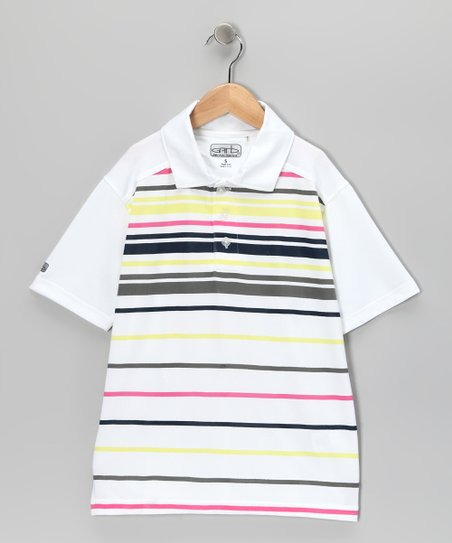 White Seth Polo - Boys