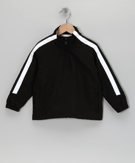 Black Cameron Pullover - Toddler & Kids