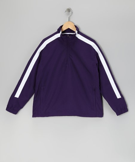 Purple Cameron Pullover - Kids