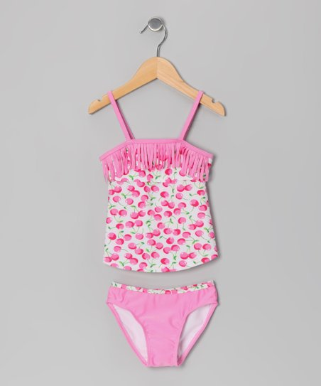 Pink Cherry Tankini - Toddler