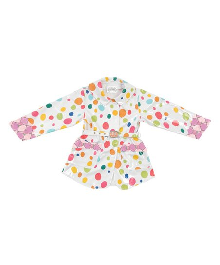 Pink Polka Dot The English Roses Raincoat - Toddler & Kids