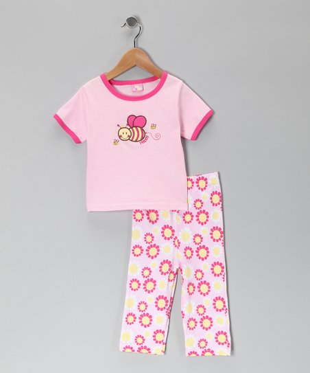 Pink Bee Tee & Pants - Infant