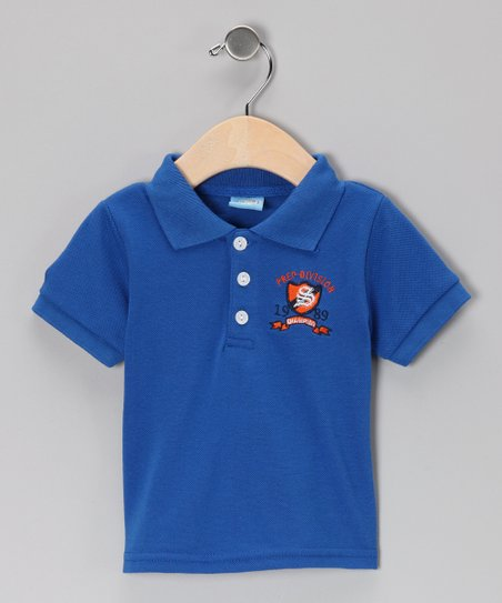 Blue Crest Polo - Infant