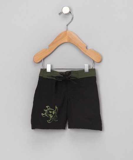 Olive Boardwalk Swimshorts - Infant & Boys