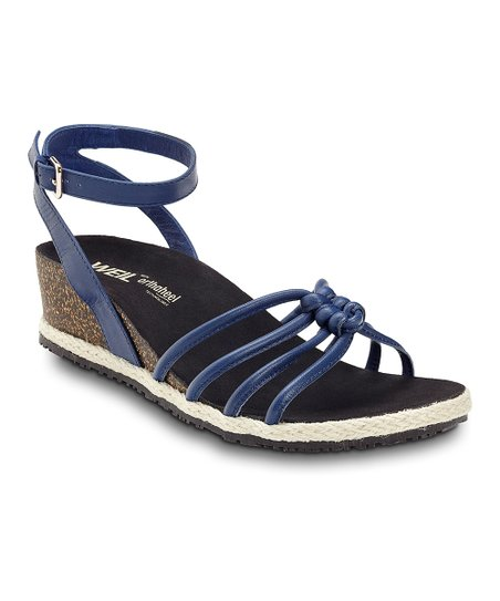 Cobalt Serenity Leather Sandal