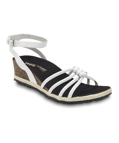 White Serenity Leather Sandal