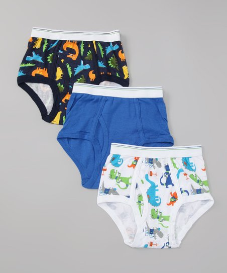 Carter's Blue Dinosaur Underwear Set - Toddler & Boys