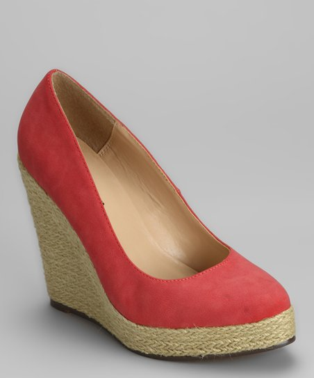 Coral Anabel Wedge