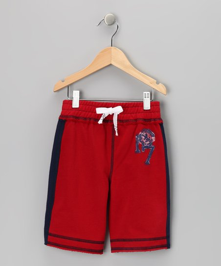 Crimson Fleece Shorts - Infant, Toddler & Boys
