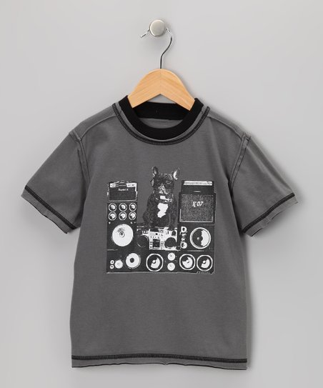 Storm French Bull Dog Washed Tee - Infant & Boys