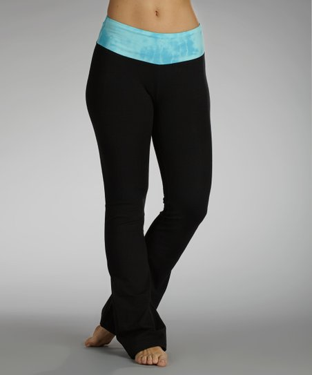 Aquarius Glam Factor Flat-Waist Pants