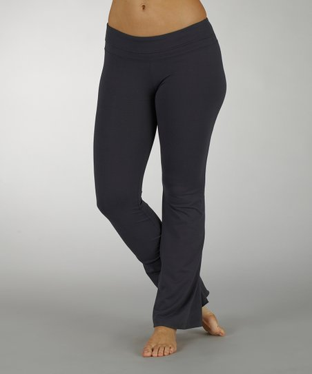 Carbon Platinum Yoga Pants