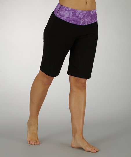 Iris Sky's the Limit Tummy Control Bermuda Shorts