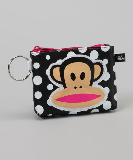 Black & White Polka Dot Coin Purse