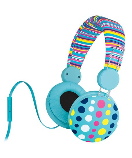 Poppy Dot Malibu Sweet Microphone Headphones