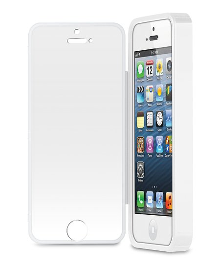 White Screen Protector Case for iPhone 5