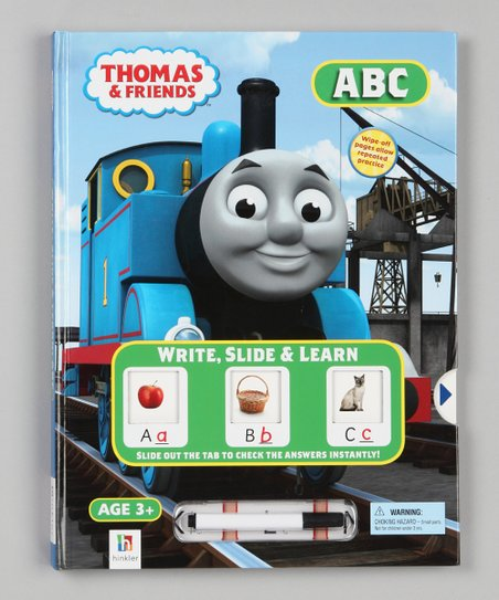 ABC Write, Slide & Learn Thomas & Friends Hardcover