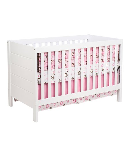 White Modena 3-in-1 Convertible Crib