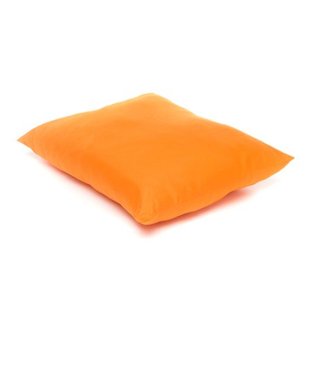 Orange Bright Microfiber Pillow