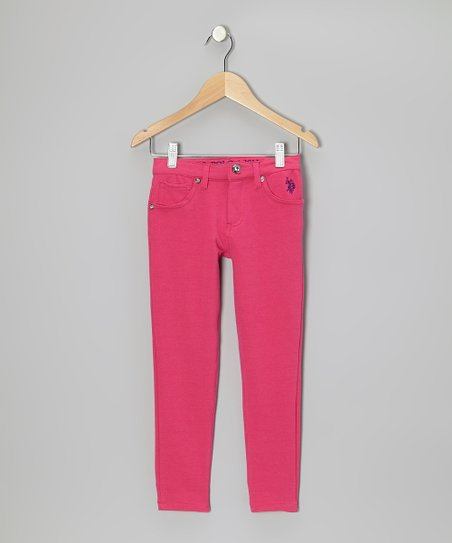 Berry Bug Skinny Jeans - Toddler & Girls