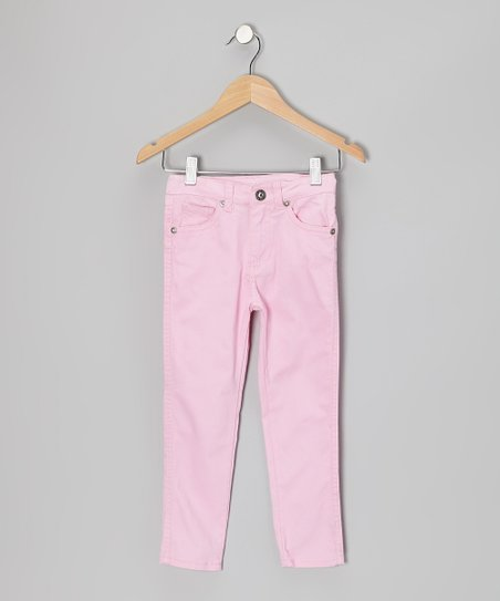 Sugar Pink Skinny Jeans - Toddler & Girls