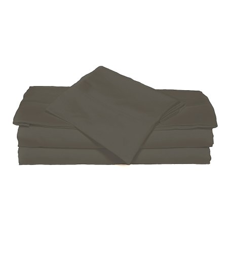 Slate Gray XOXO Microfiber Sheet Set
