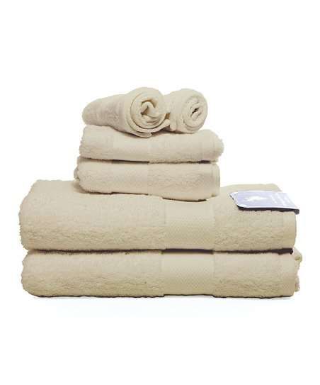 Ecru Ringspun Towel