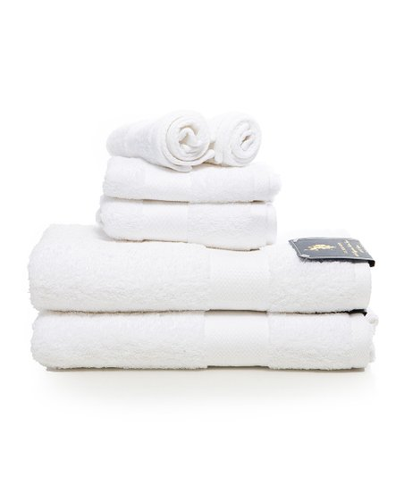 White Ringspun Towel