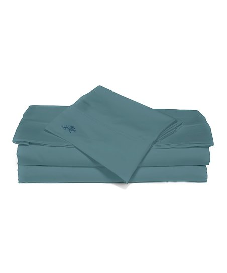 Peacock Sateen Sheet Set
