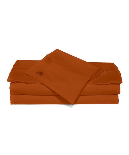 Spice Sateen Sheet Set