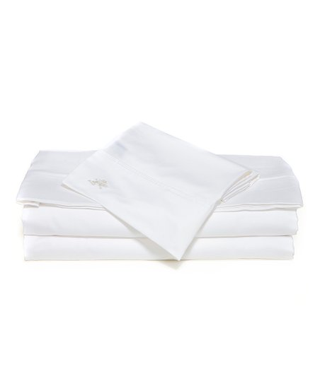 White Sateen Sheet Set
