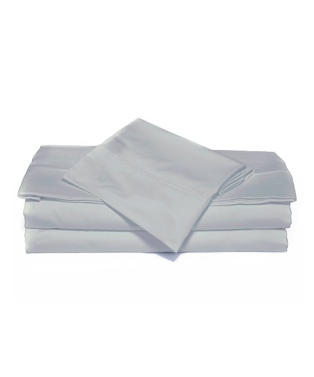 Dove Gray Luxurious Solid Sheet Set