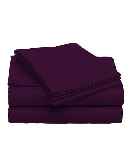 Plum Berry Sheet Set