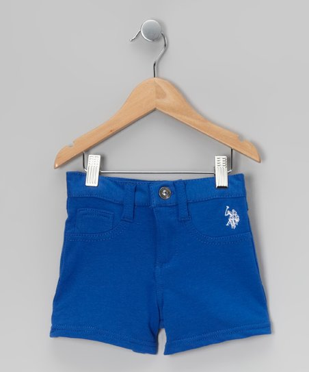 Cobalt Blue Stretch Shorts