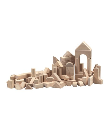 Rubberwood Blocks - Set of 76