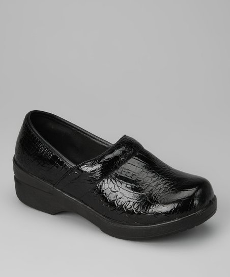Black Croco Loafer