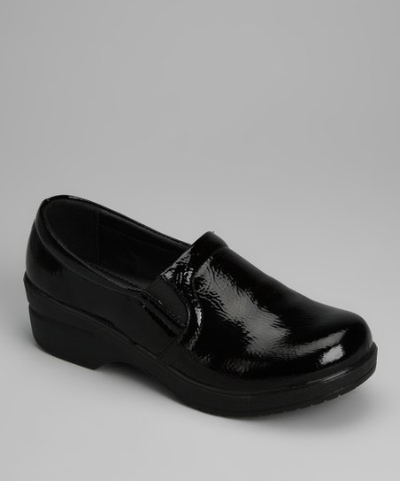 Black Patent Loafer