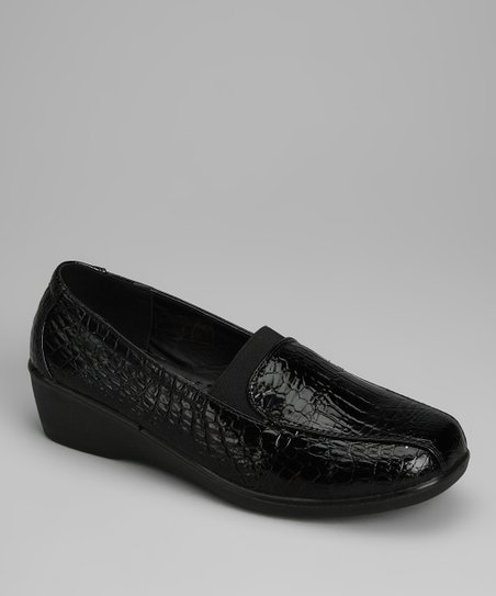 Black Croco New Loafer