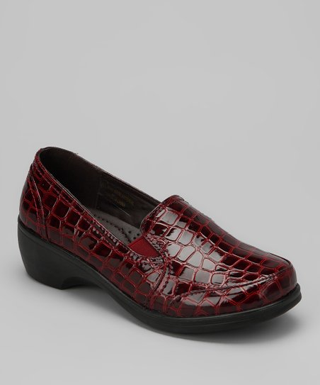 Red Croco Patent Karl Loafer