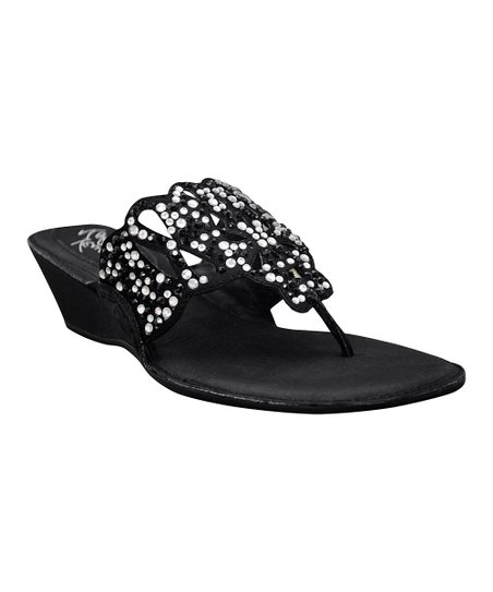 Black Chandra Sandal