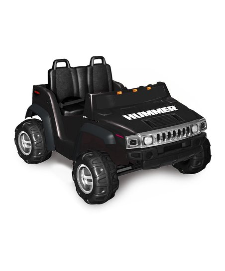 Black Hummer H2 Ride-On