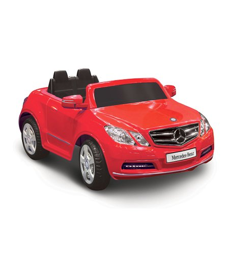 Red Mercedes-Benz E550 Ride-On
