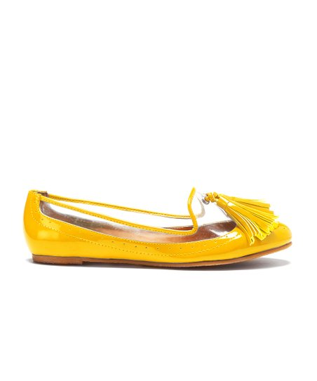 Yellow Mercy Loafer