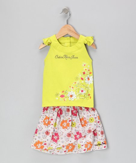 Lemon Daisy Top & Skort - Infant & Toddler